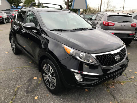 2014 Kia Sportage for sale at Autos Cost Less LLC in Lakewood WA