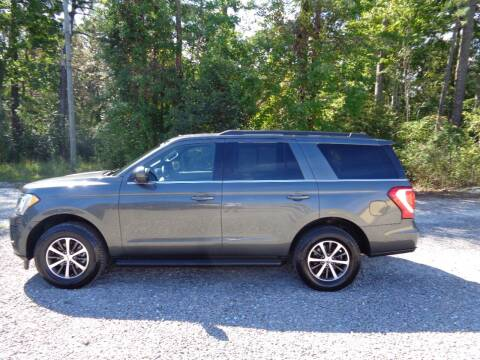 2018 Ford Expedition for sale at BALKCUM AUTO INC in Wilmington NC