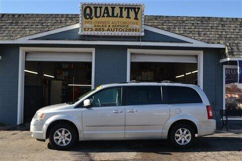 2009 Chrysler Town and Country for sale at Quality Pre-Owned Automotive in Cuba MO
