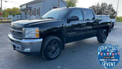2013 Chevrolet Silverado 1500 for sale at RBT Automotive LLC in Perry OH
