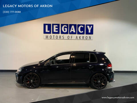 2013 Volkswagen GTI for sale at LEGACY MOTORS OF AKRON in Akron OH