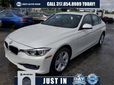 2017 BMW 3 Series for sale at INDY AUTO MAN in Indianapolis IN