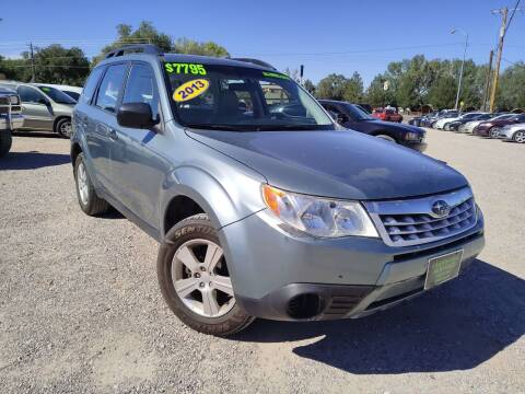 2013 Subaru Forester for sale at Canyon View Auto Sales in Cedar City UT