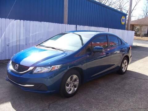 2015 Honda Civic for sale at Stewart's Auto Sales in Arkadelphia AR
