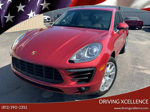 2016 Porsche Macan for sale at Driving Xcellence in Jeffersonville IN