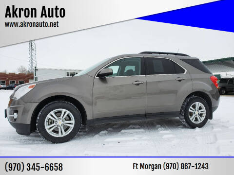 2012 Chevrolet Equinox for sale at Akron Auto - Fort Morgan in Fort Morgan CO