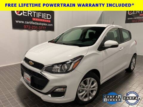 2021 Chevrolet Spark for sale at CERTIFIED AUTOPLEX INC in Dallas TX