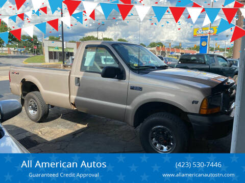 1999 Ford F-250 Super Duty for sale at All American Autos in Kingsport TN