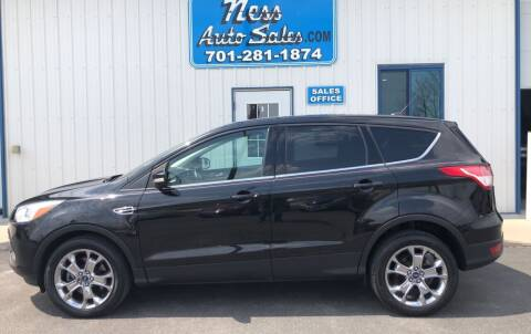 2013 Ford Escape for sale at NESS AUTO SALES in West Fargo ND