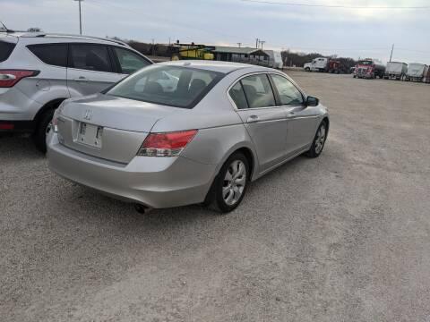 2010 Honda Accord for sale at Halstead Motors LLC in Halstead KS