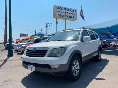 2009 Kia Borrego for sale at Borrego Motors in El Paso TX
