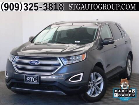 2018 Ford Edge for sale at STG Auto Group in Montclair CA