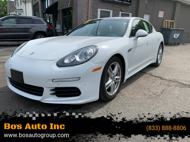 2015 Porsche Panamera for sale at Bos Auto Inc in Quincy MA