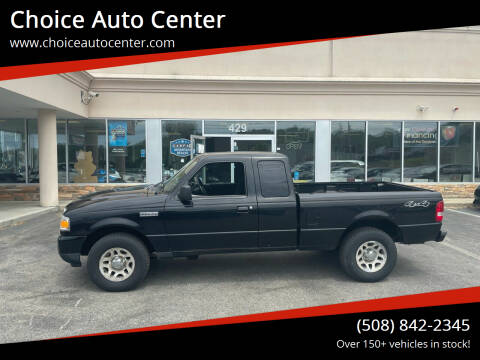 2010 Ford Ranger for sale at Choice Auto Center in Shrewsbury MA