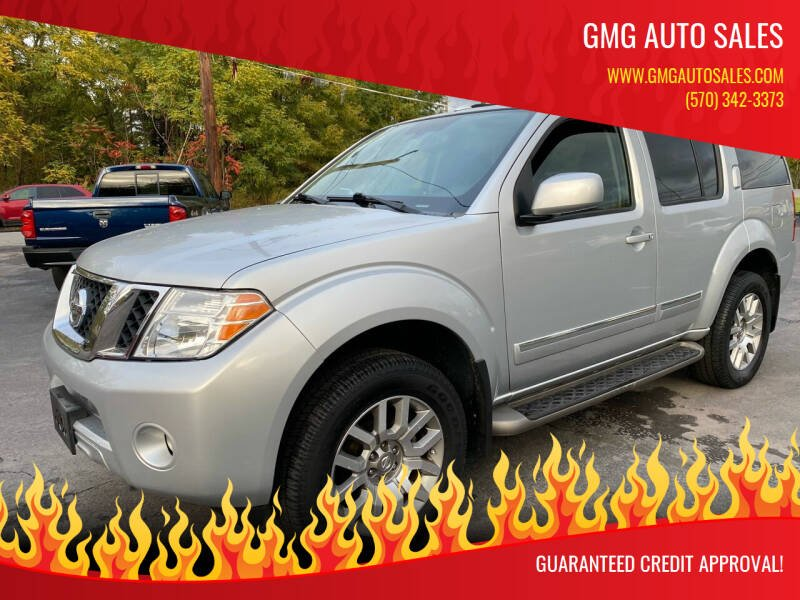 2010 Nissan Pathfinder for sale at GMG AUTO SALES in Scranton PA