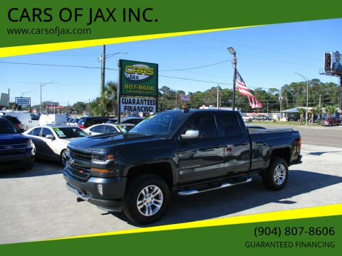 2017 Chevrolet Silverado 1500 for sale at CARS OF JAX INC. in Jacksonville FL
