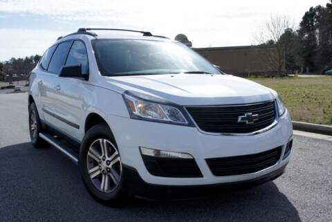 2017 Chevrolet Traverse for sale at CU Carfinders in Norcross GA