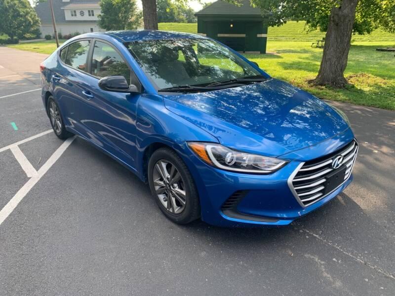 2018 Hyundai Elantra for sale at Eddie's Auto Sales in Jeffersonville IN