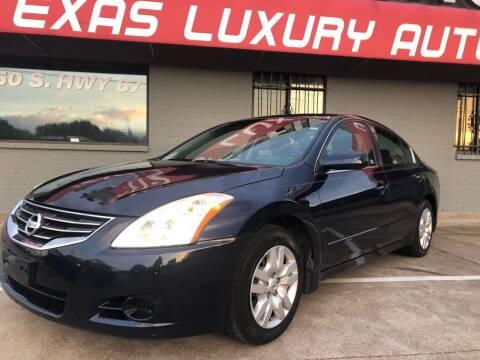 2010 Nissan Altima for sale at Texas Luxury Auto in Cedar Hill TX