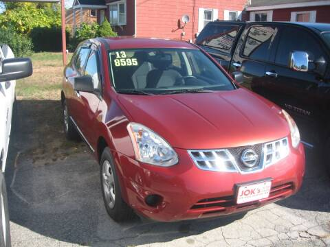 2013 Nissan Rogue for sale at Joks Auto Sales & SVC INC in Hudson NH