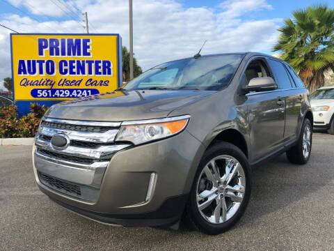 2013 Ford Edge for sale at PRIME AUTO CENTER in Palm Springs FL
