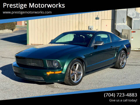 2008 Ford Mustang for sale at Prestige Motorworks in Concord NC