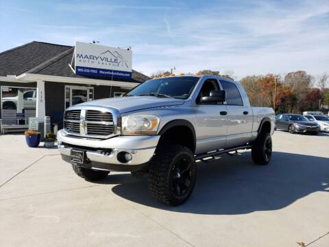 2006 Dodge Ram Pickup 2500 for sale at Maryville Auto Sales in Maryville TN