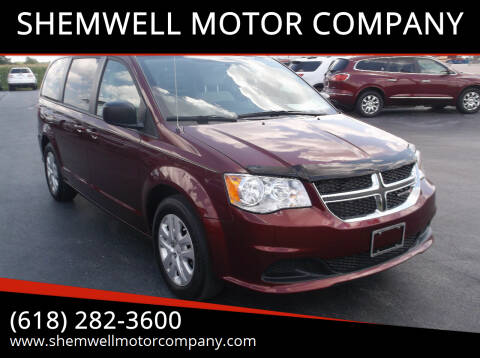 2018 Dodge Grand Caravan for sale at SHEMWELL MOTOR COMPANY in Red Bud IL