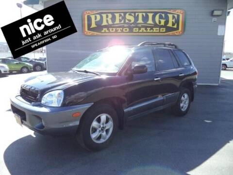 2005 Hyundai Santa Fe for sale at PRESTIGE AUTO SALES in Spearfish SD