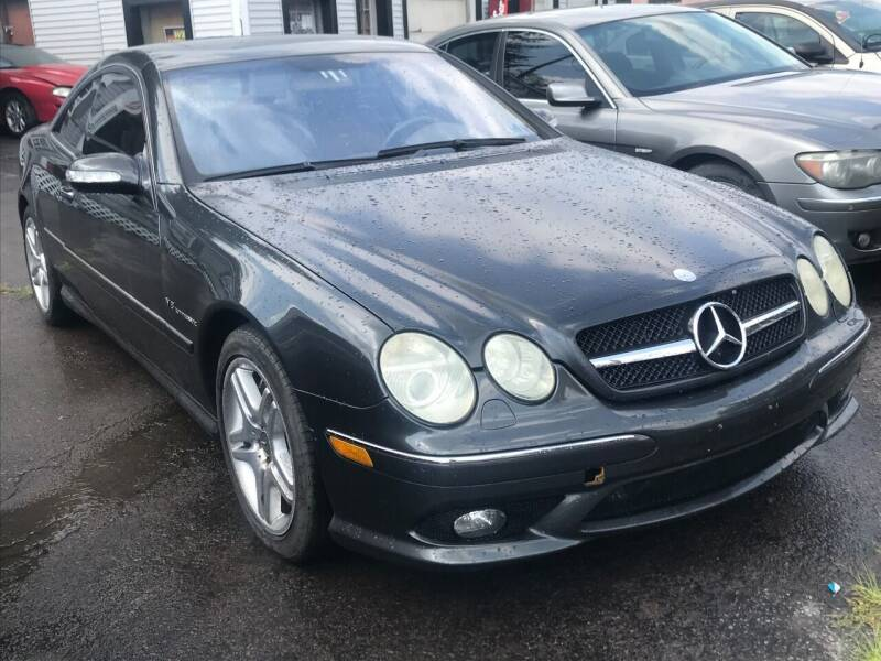 2003 Mercedes-Benz CL-Class for sale at Alpha Motors in Scranton PA