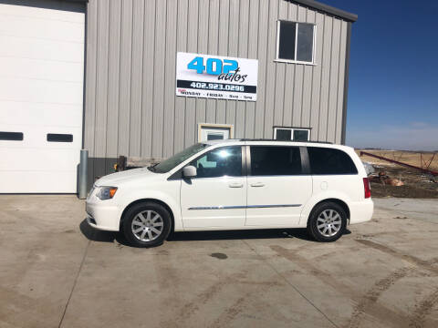 2013 Chrysler Town and Country for sale at 402 Autos in Lindsay NE