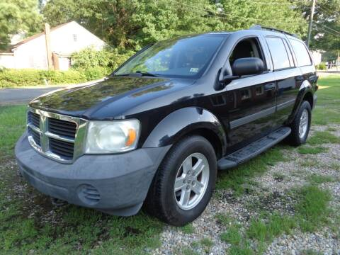 2008 Dodge Durango for sale at Liberty Motors in Chesapeake VA