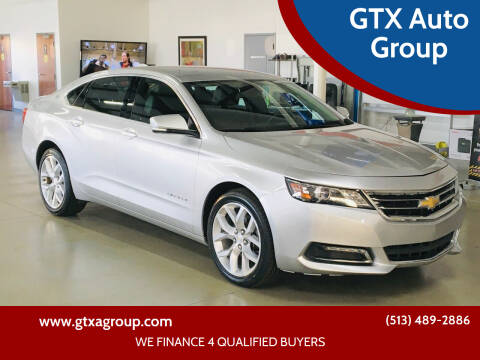 2018 Chevrolet Impala for sale at GTX Auto Group in West Chester OH