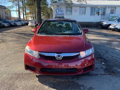 2010 Honda Civic for sale at MEEK MOTORS in North Chesterfield VA