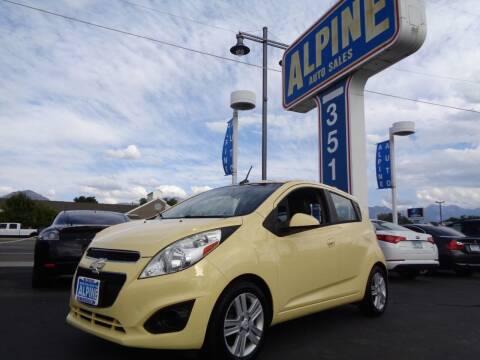 2013 Chevrolet Spark for sale at Alpine Auto Sales in Salt Lake City UT