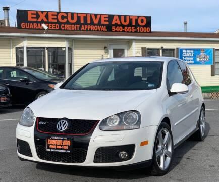 2009 Volkswagen GTI for sale at Executive Auto in Winchester VA