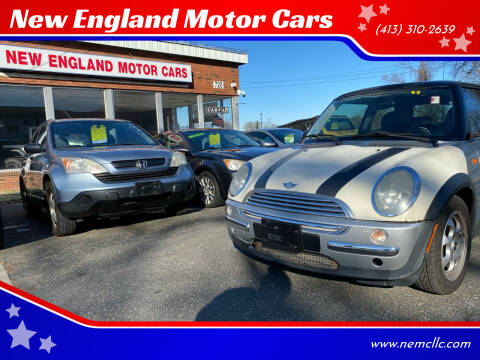2002 MINI Cooper for sale at New England Motor Cars in Springfield MA