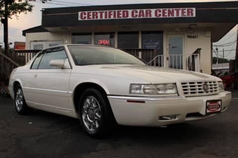 1998 Cadillac Eldorado for sale at CERTIFIED CAR CENTER in Fairfax VA
