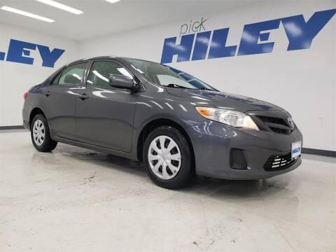 2013 Toyota Corolla for sale at HILEY MAZDA VOLKSWAGEN of ARLINGTON in Arlington TX