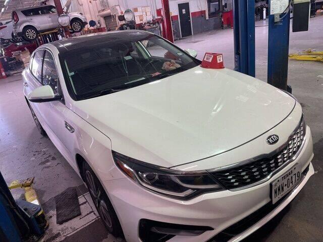 2019 Kia Optima for sale at FREDY USED CAR SALES in Houston TX