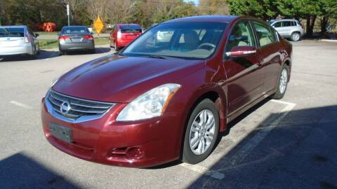 2012 Nissan Altima for sale at SAR Enterprises in Raleigh NC