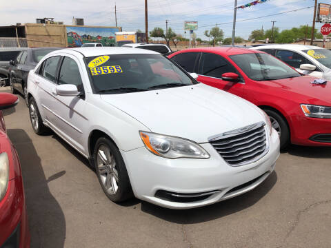 2013 Chrysler 200 for sale at Valley Auto Center in Phoenix AZ