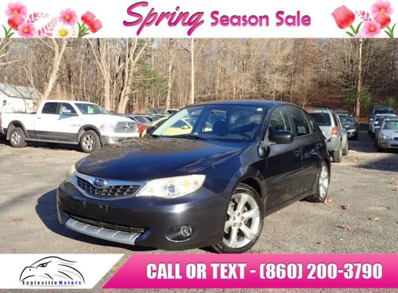 2008 Subaru Impreza for sale at EAGLEVILLE MOTORS LLC in Storrs CT