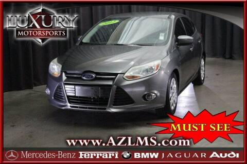 2012 Ford Focus for sale at Luxury Motorsports in Phoenix AZ