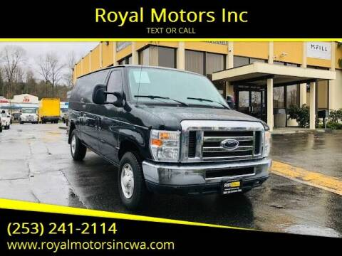 2014 Ford E-Series Cargo for sale at Royal Motors Inc in Kent WA
