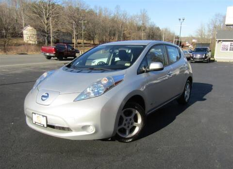 2013 Nissan LEAF for sale at Guarantee Automaxx in Stafford VA