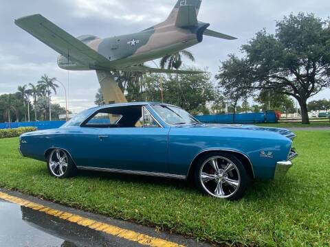1967 Chevrolet Chevelle for sale at BIG BOY DIESELS in Fort Lauderdale FL