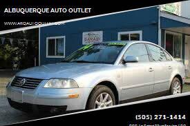 2003 Volkswagen Passat for sale at ALBUQUERQUE AUTO OUTLET in Albuquerque NM