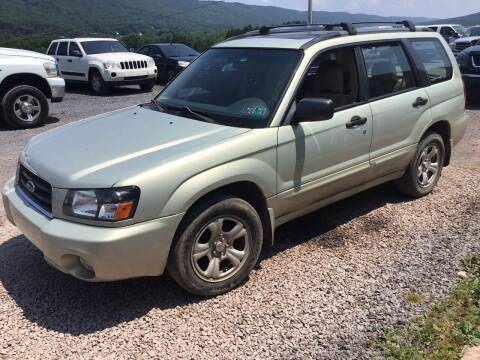 2005 Subaru Forester for sale at Troys Auto Sales in Dornsife PA