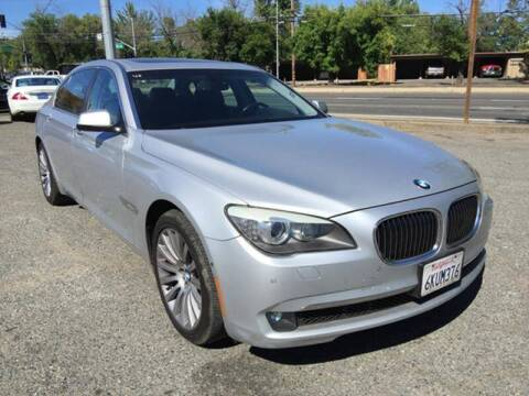 2009 BMW 7 Series for sale at All Cars & Trucks in North Highlands CA
